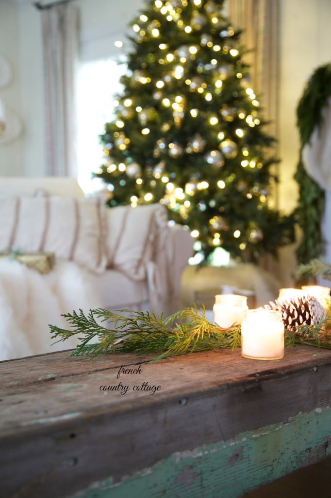 http://www.frenchcountrycottage.net/2014/12/holiday-home-tour-french-country-cottage.html