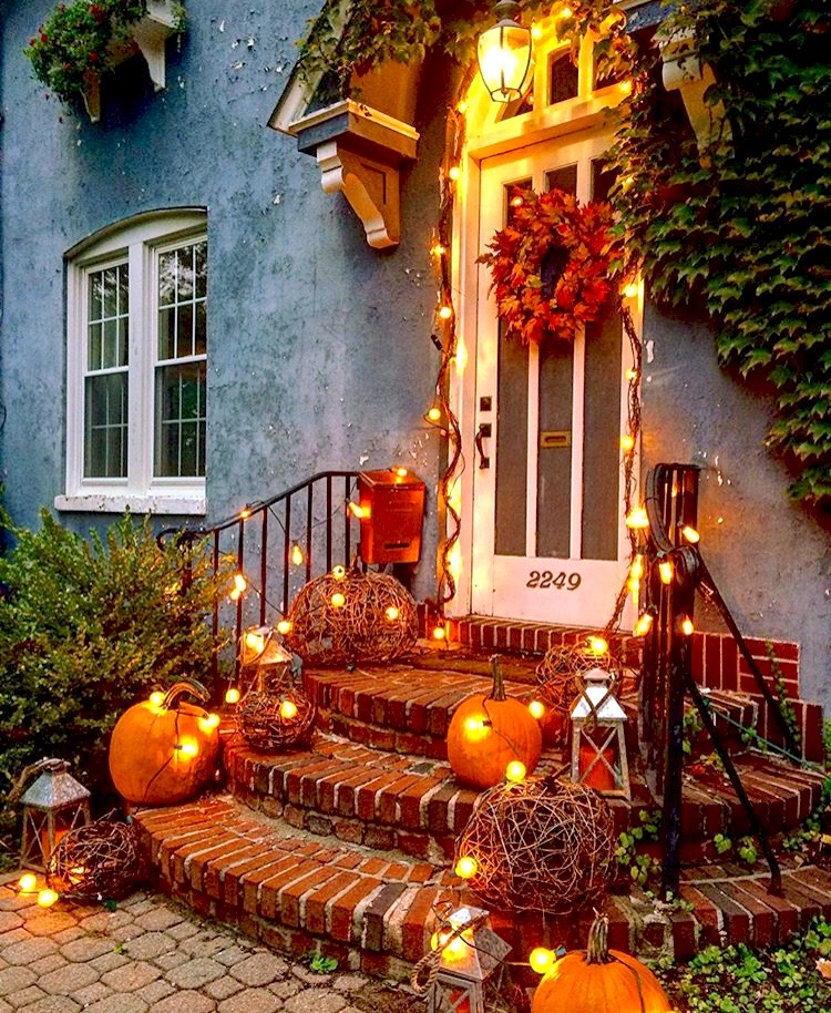 Home Decor Nyc: Autumn Charm In A Historic Upstate New York Home