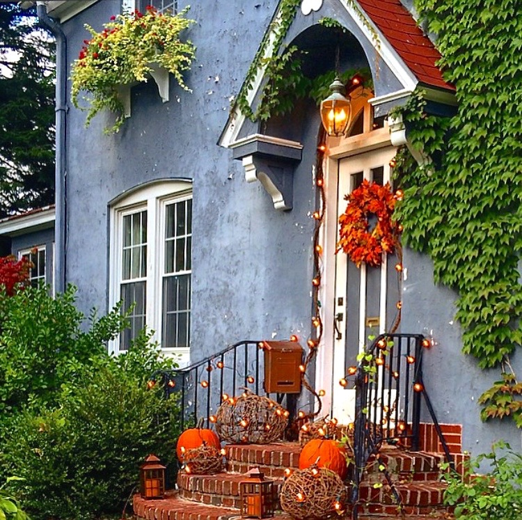 Autumn Snippets Of A Historic New York Home. Http://www.kristywicks.com