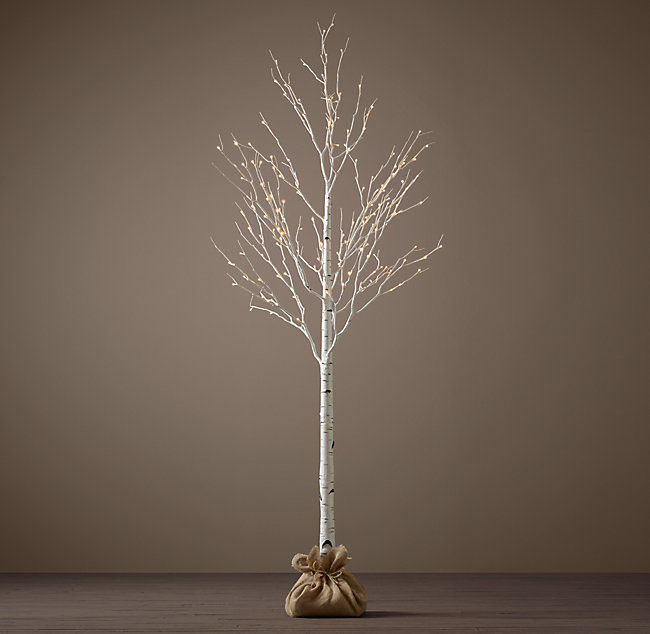 Friday Favorite - Restoration Hardware Twinkle Trees - Kristy Wicks