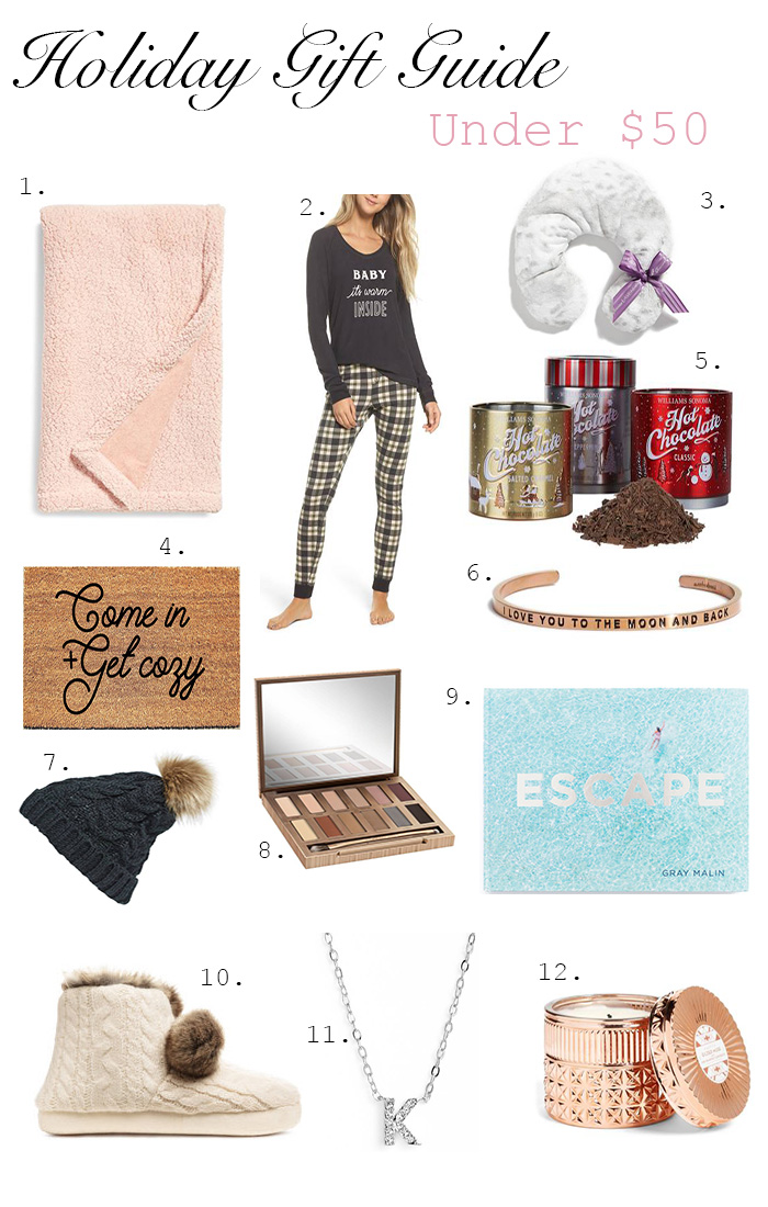 Holiday Gift Guide under $50 Kristy Wicks