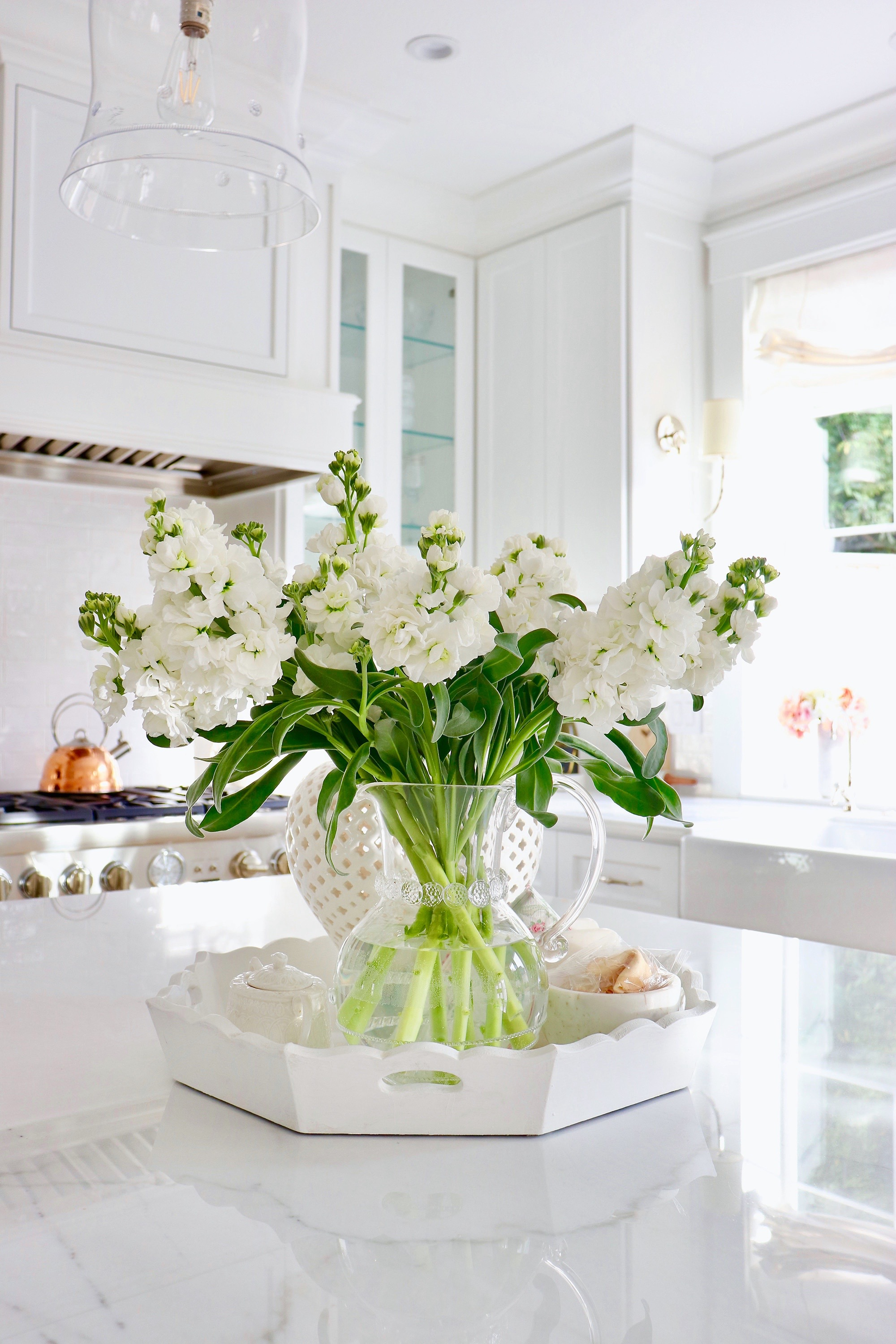 Brightening your Home with January Florals ~ Kristy Wicks