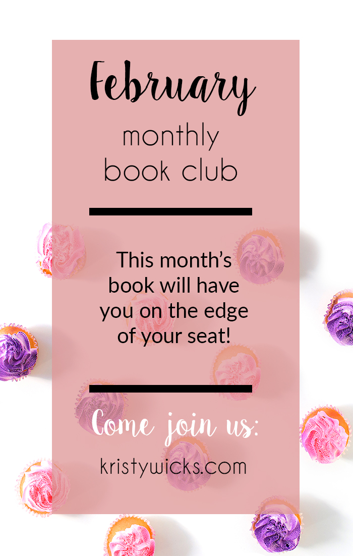 February Monthly Book Club - Thrillers & Killers & Husband's Who Lie, Oh my!