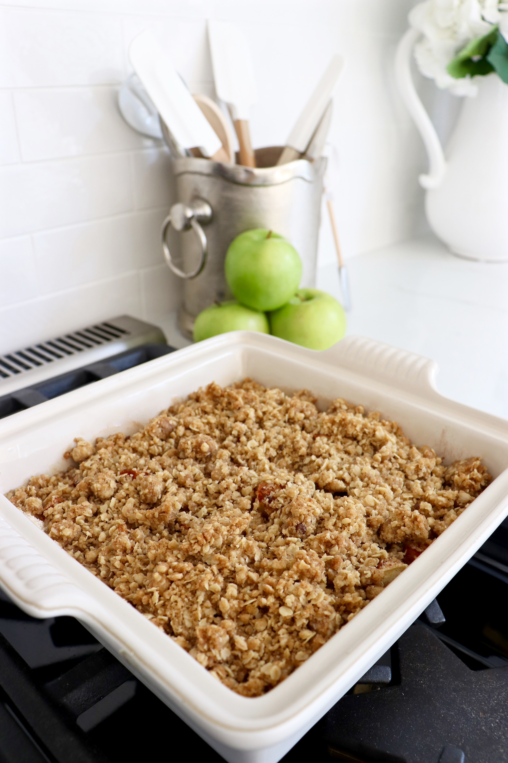 Jeff's Apple Oatmeal Crisp Recipe