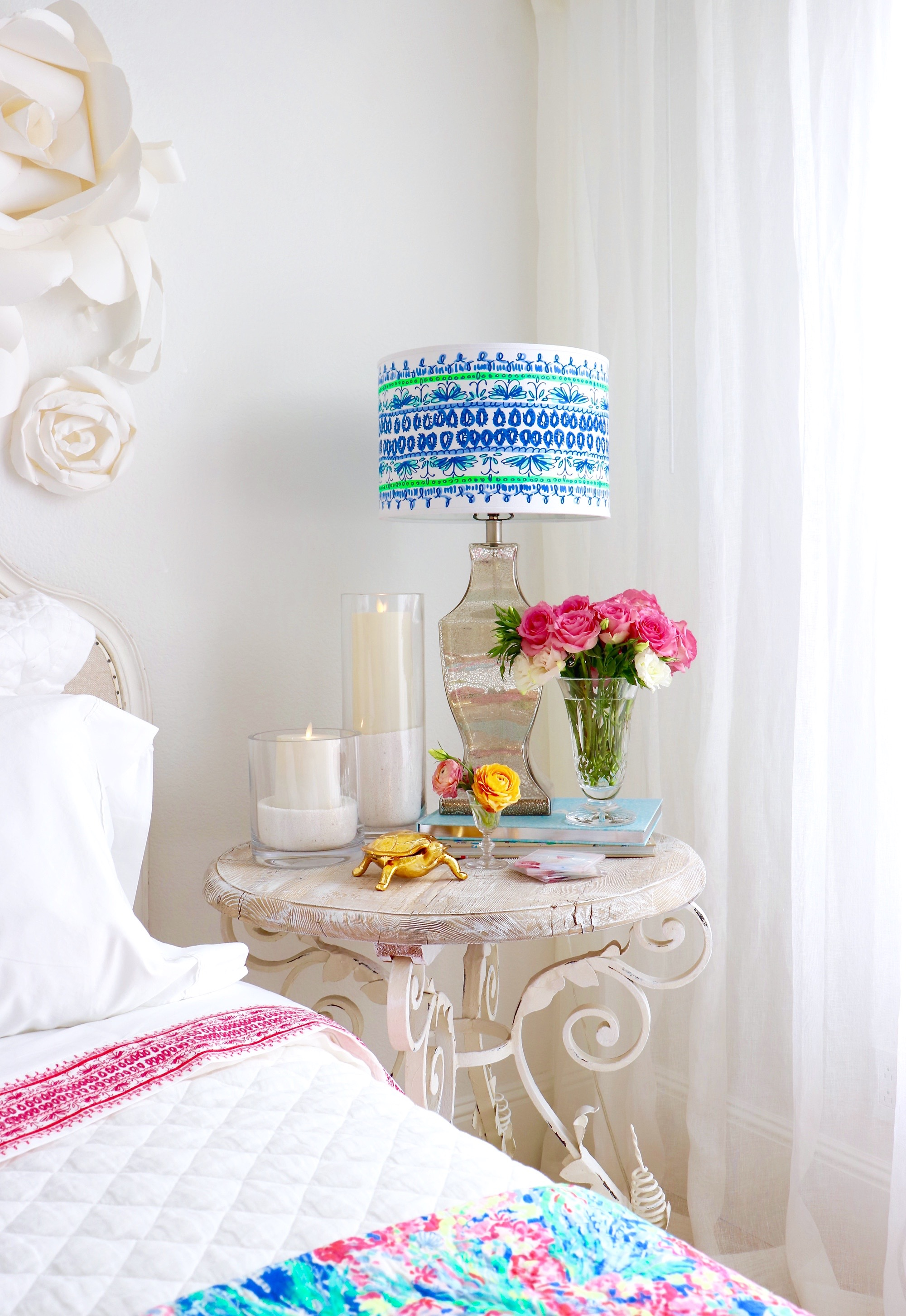 Colorful Bedroom Update With The New Lilly Pulitzer U0026 Pottery Barn  Collection