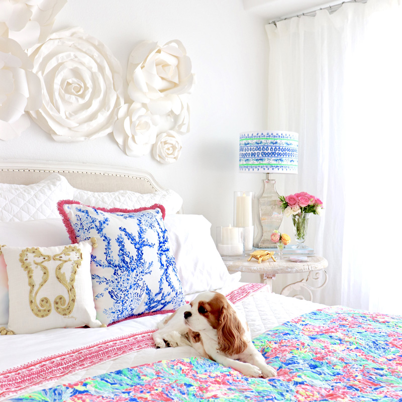 Lilly Pulitzer U0026 Pottery Barn Collection   Styled U0026 Shown In My Guest  Bedroom!