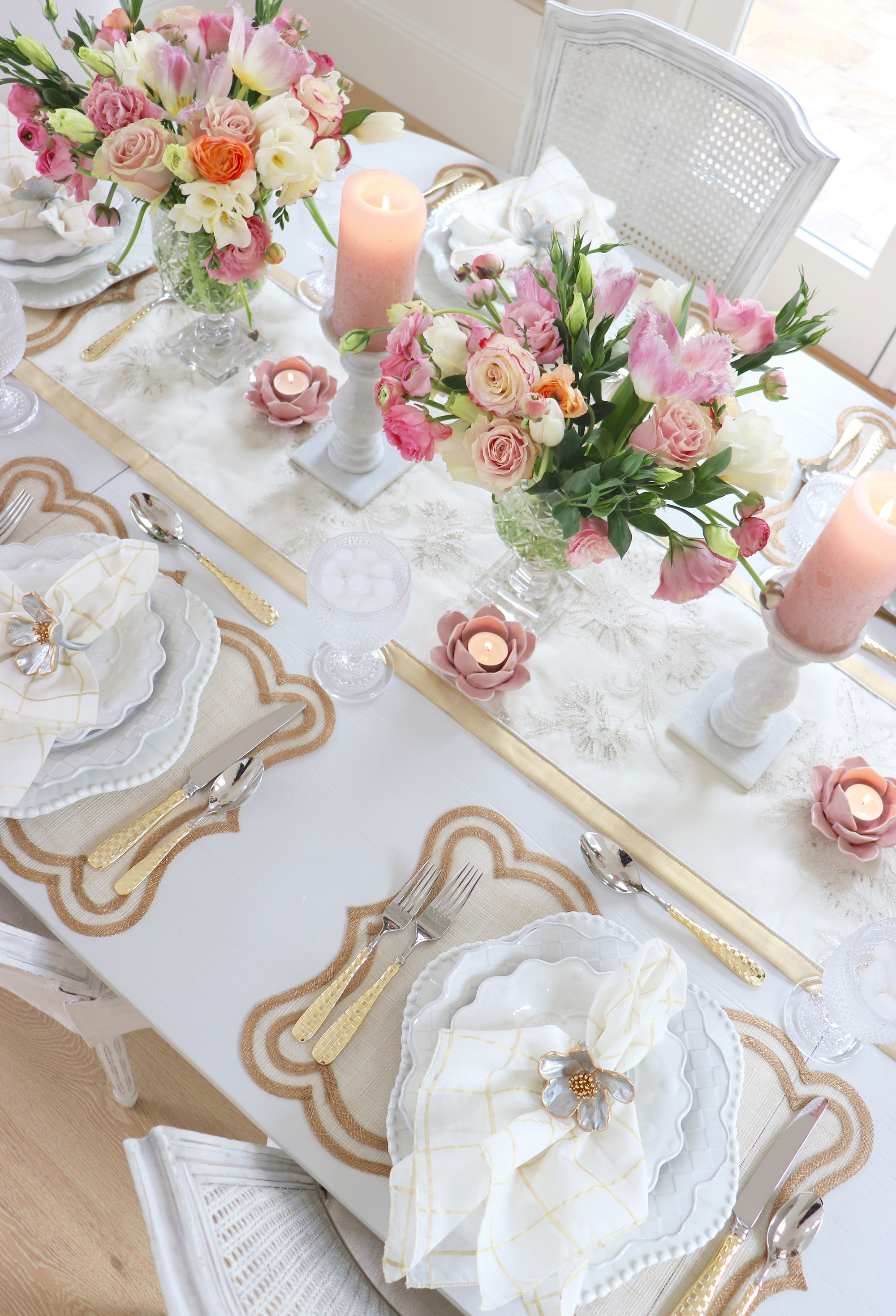 How To Create a Beautiful Spring Brunch Tablescape