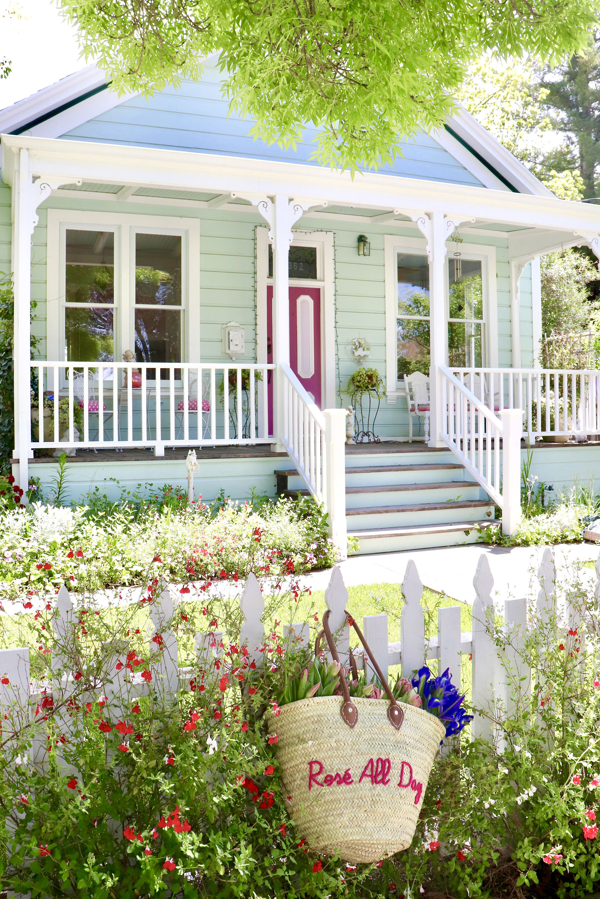 Cottages, Florals, and Sunshine - Oh My!