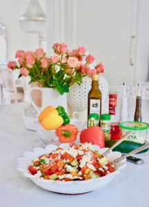 Jeff's Summer Greek Salad Recipe