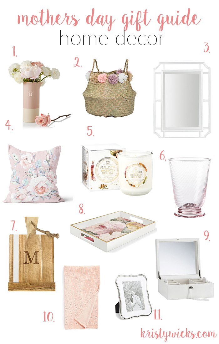 Mother's Day Gift Guide Home Decor Kristy Wicks
