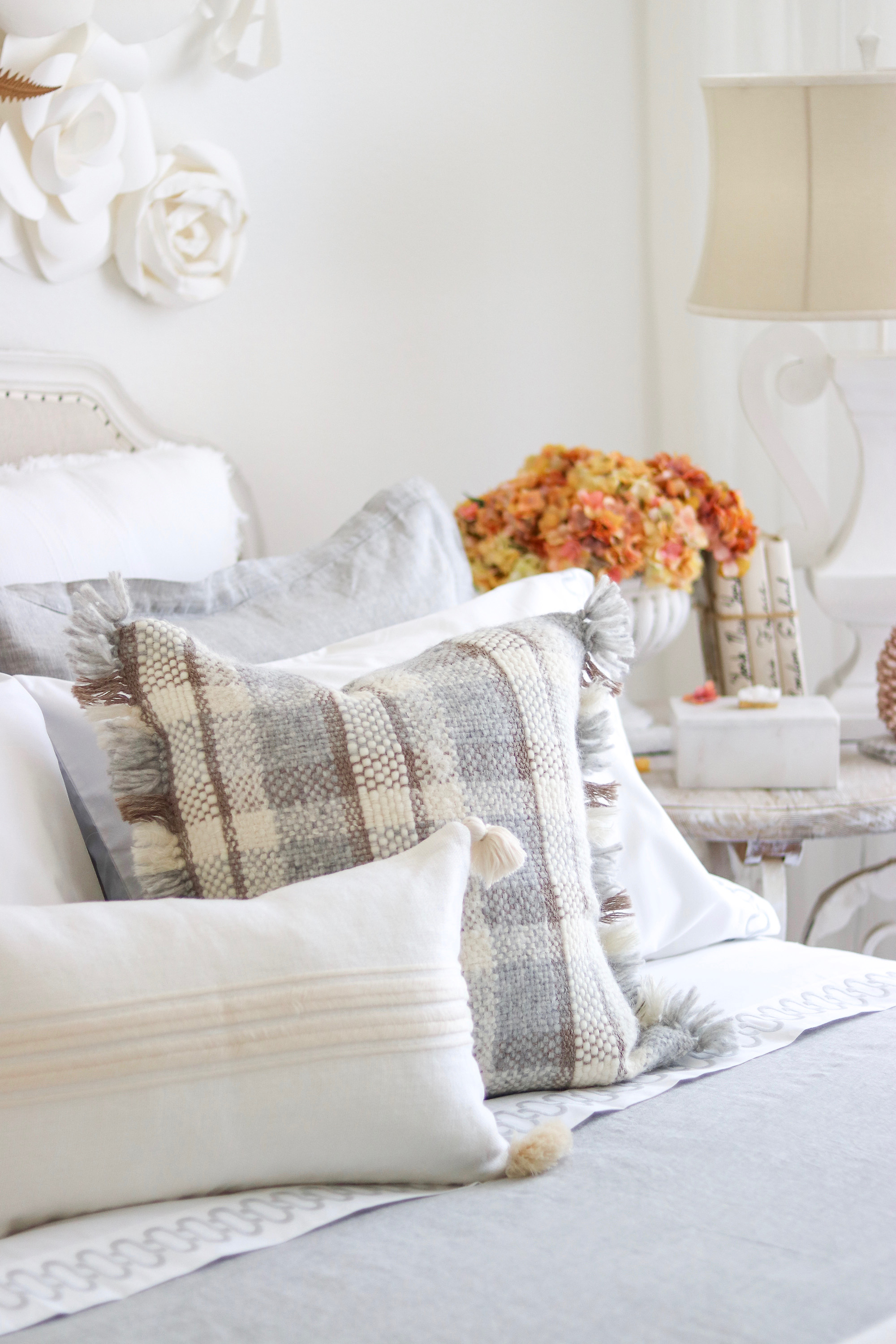 Fall Bedroom Refresh| Kristy Wicks.