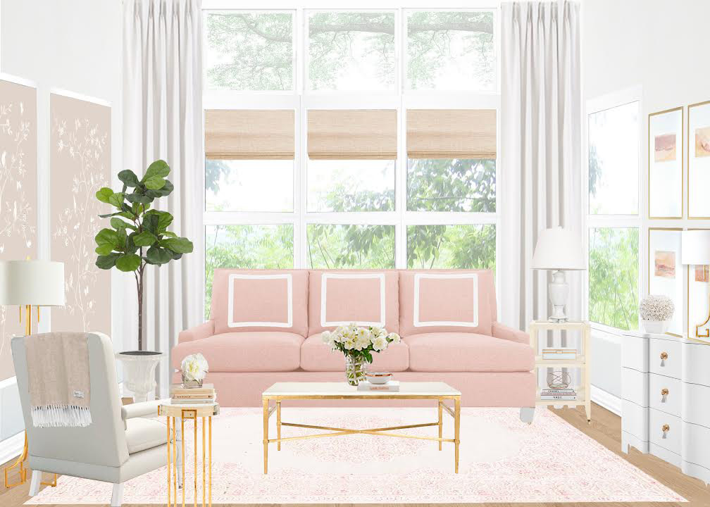 Living Room Redo Design