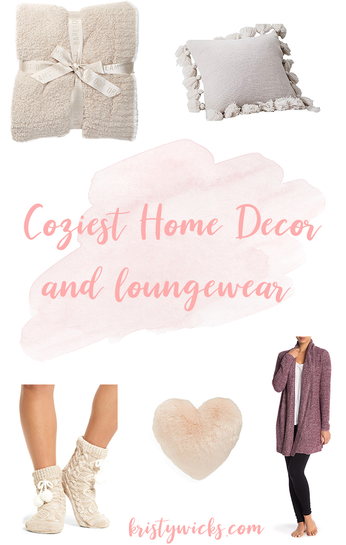 Coziest Home Decor and Loungewear