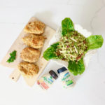 Ranch Chicken and Brussel Sprouts Caesar Salad Recipe