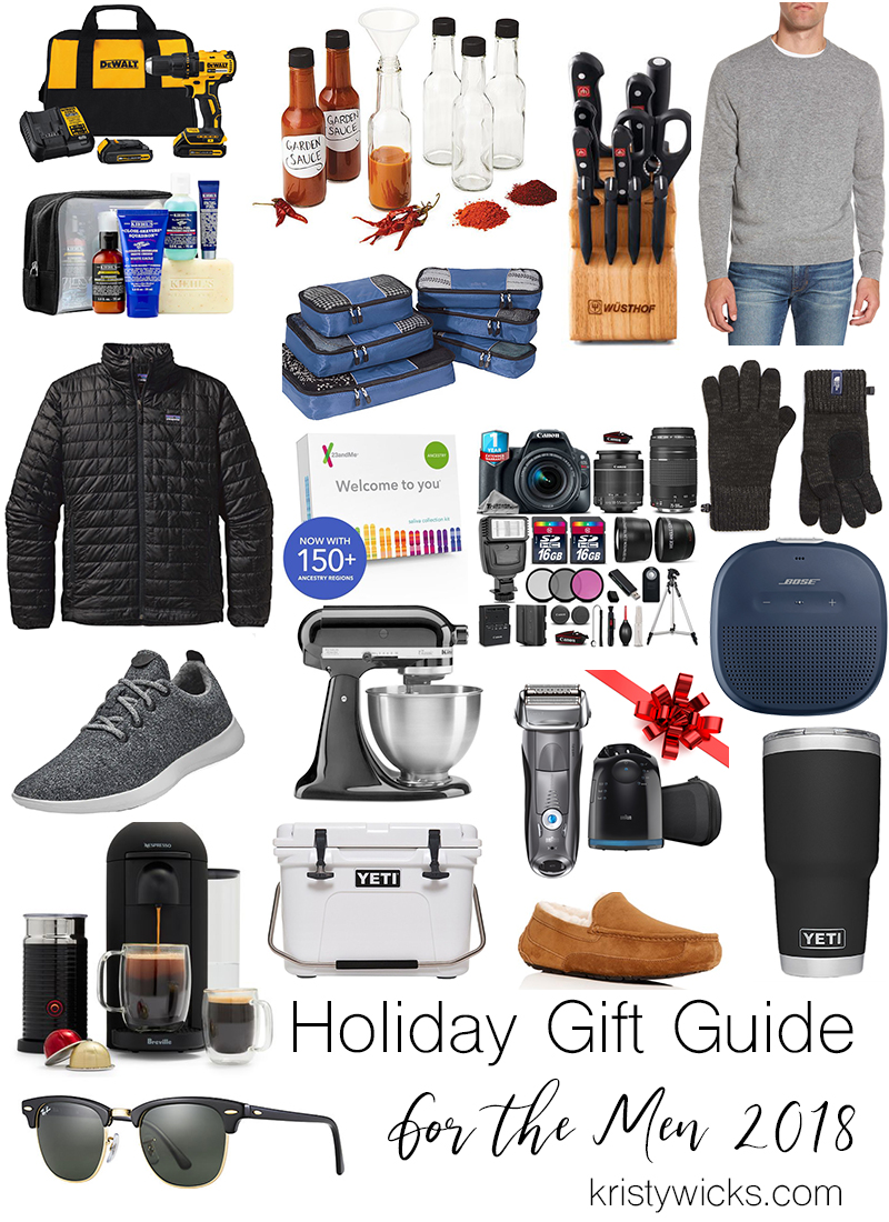 Holiday Gift Guide 2018 For Men