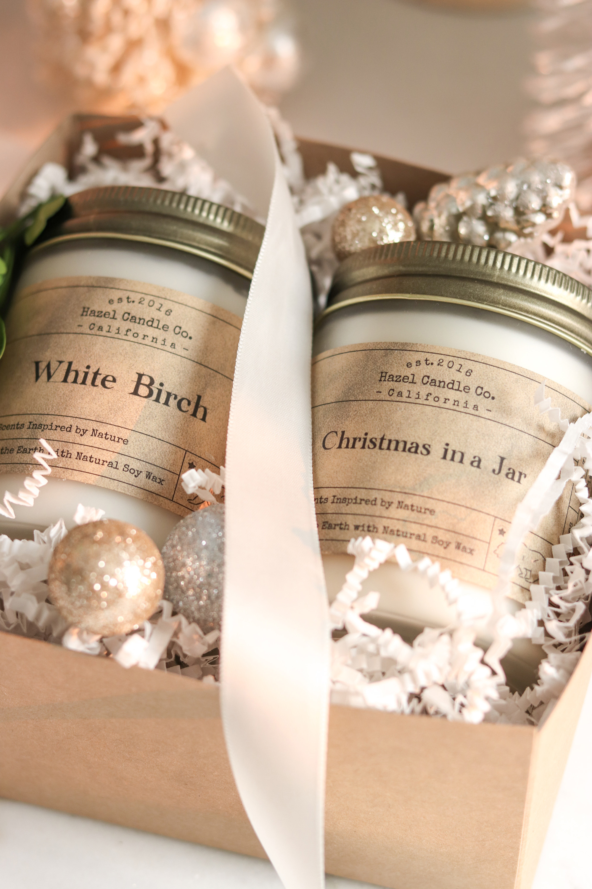 Kristy Wicks x Hazel Candle Co. Holiday Collection!
