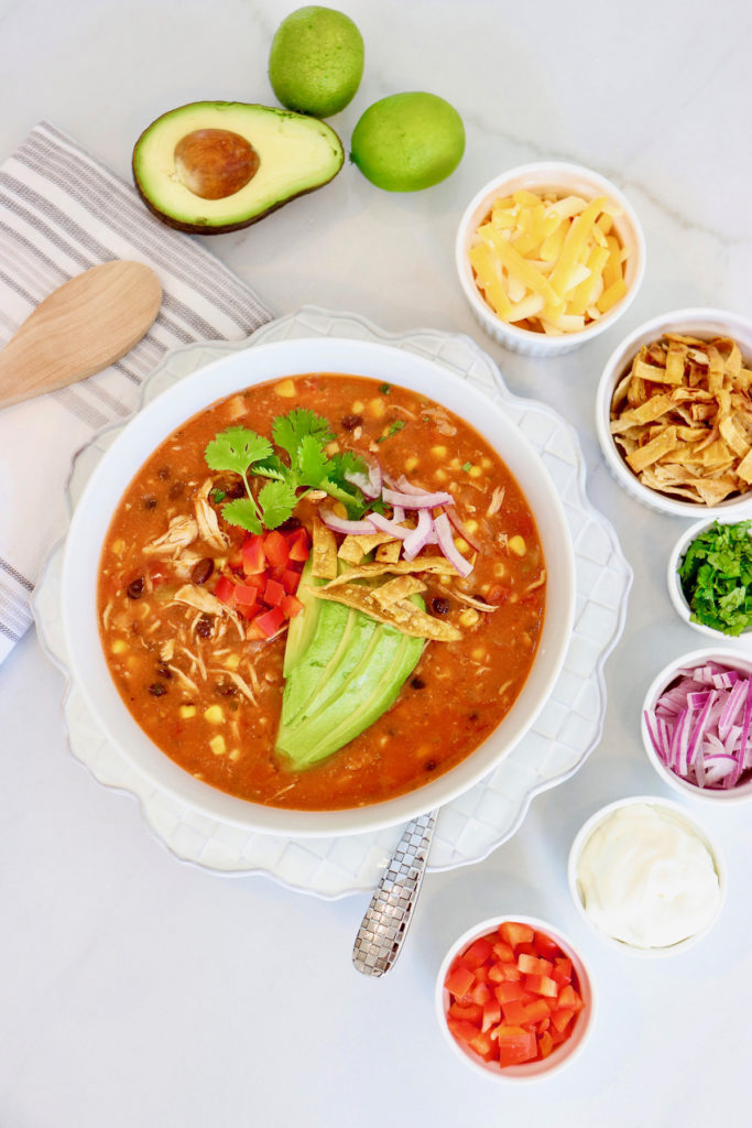 Jeff's Chicken Tortilla Soup Recipe