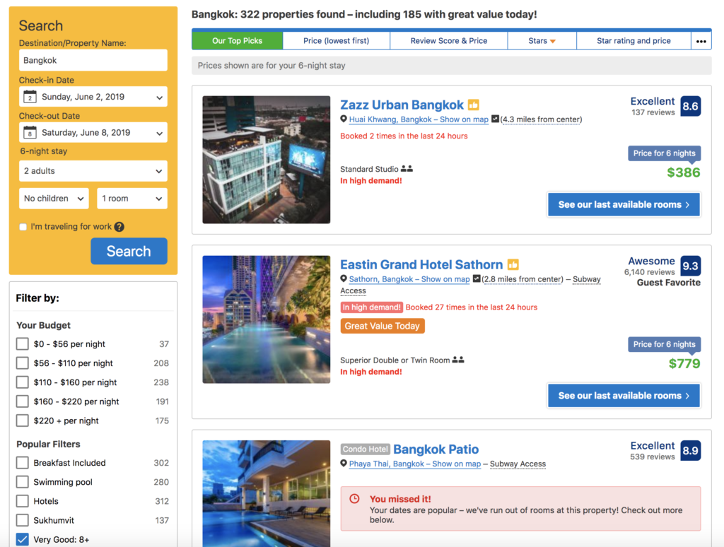 Book Cheap Hotels and Accommodation - Best tips & tricks 2019