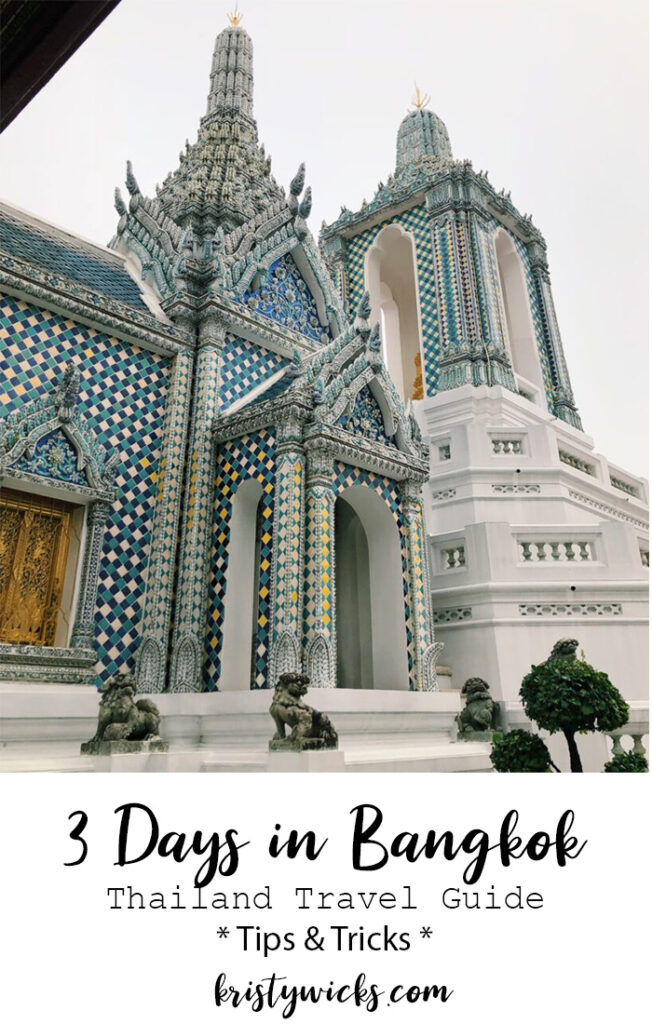 3 Days in Bangkok | Thailand Travel Guide - Best sites, hotels, places to eat and spas in Bangkok Thailand