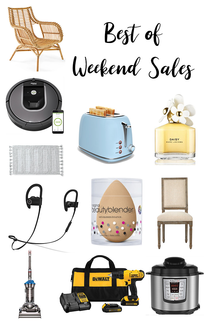Best of March and Weekend Sales || A Roundup of the best items on sale, from home decor, electronics, outdoor and more. | Kristy Wicks