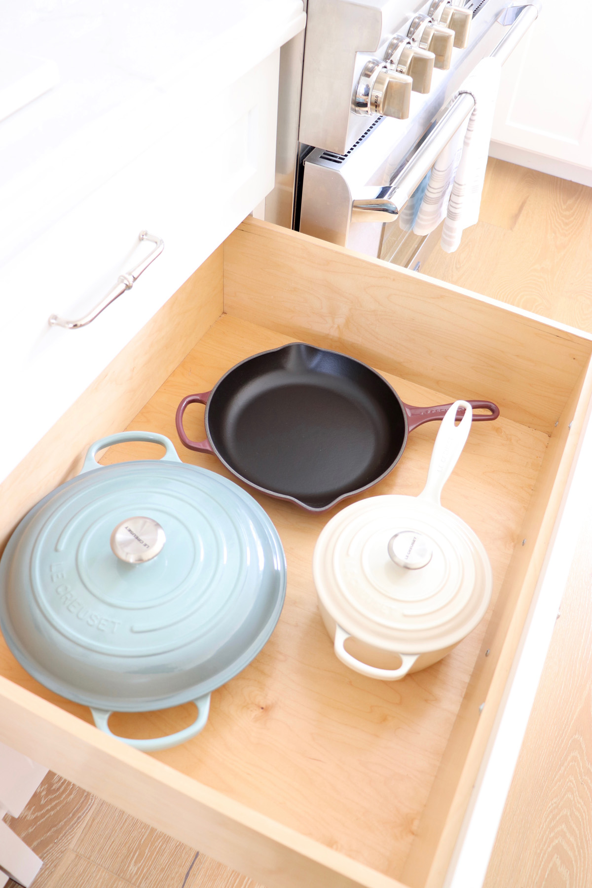 Finding Calm in the Kitchen with New Cookware | Le Creuset's New Calm Collection 2019 - Kristy Wicks