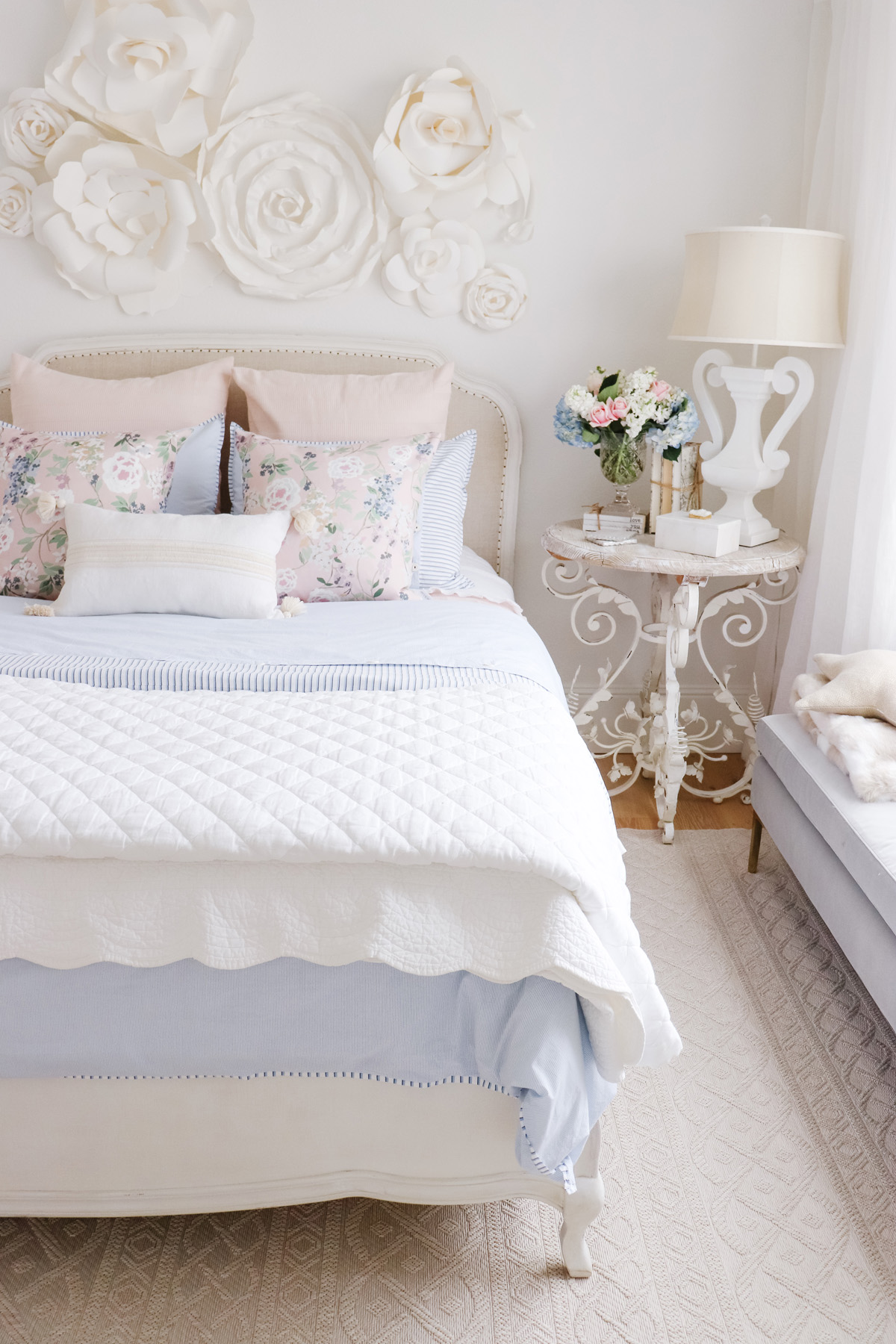 Spring Bedroom Refresh | Kristy Wicks