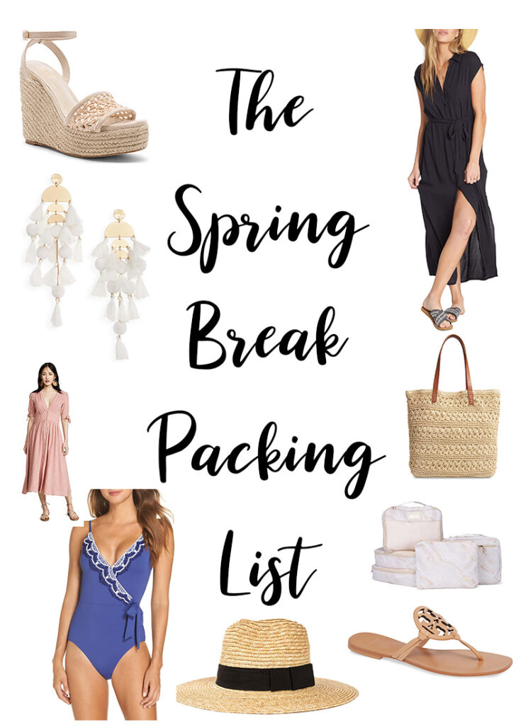 The Spring Break Packing List 2019 - Best of Resort Wear //