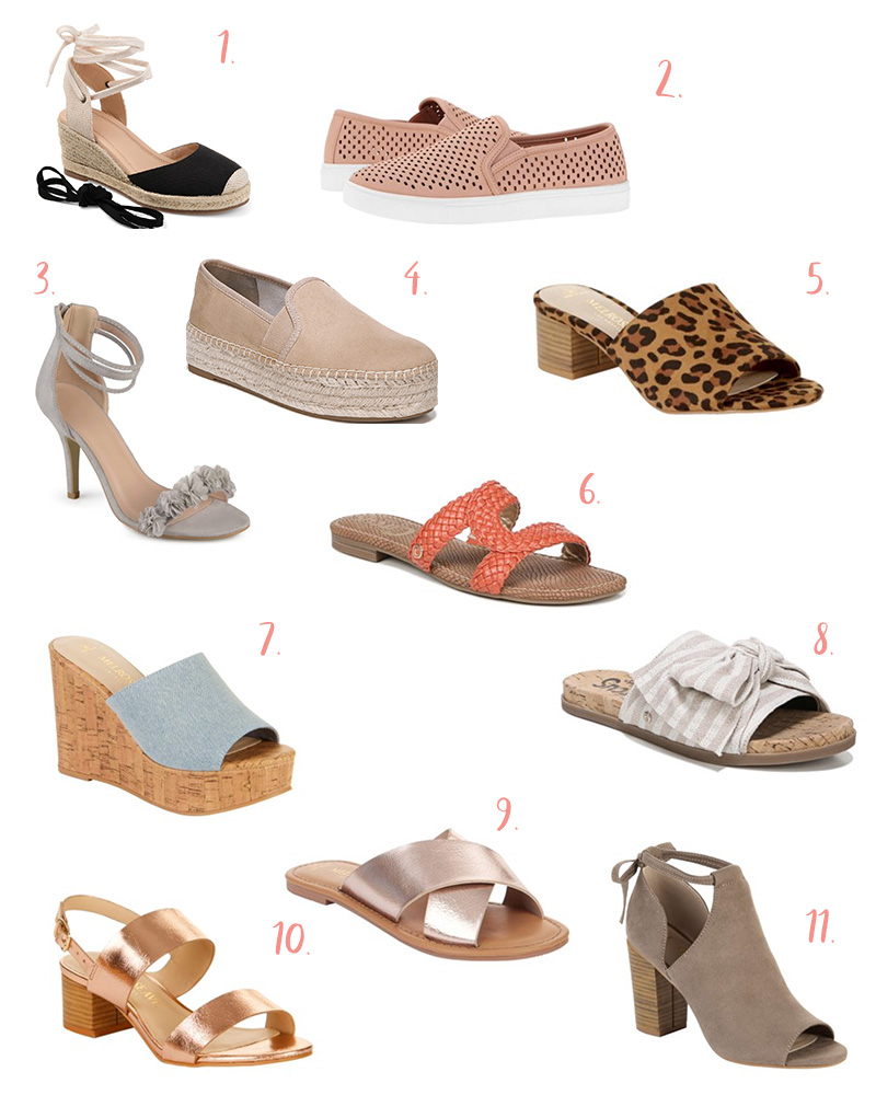 Affordable Spring Fashion from Walmart - Cutest shoe options. | Kristy Wicks