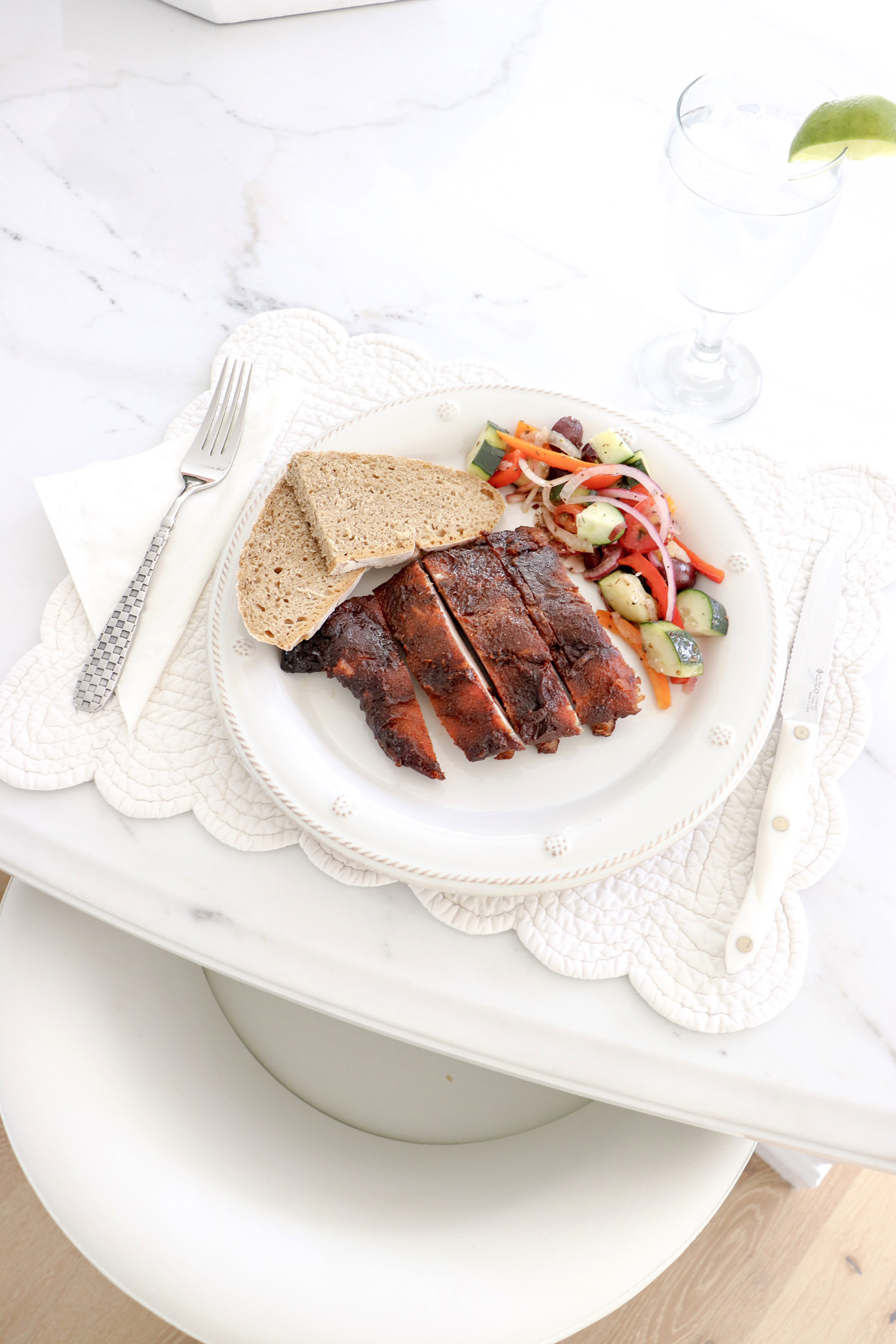 The Best Smoked Ribs & Rib Rub Recipe - Be the most popular person at the summer BBQ and make these delicious ribs! | Kristy Wicks