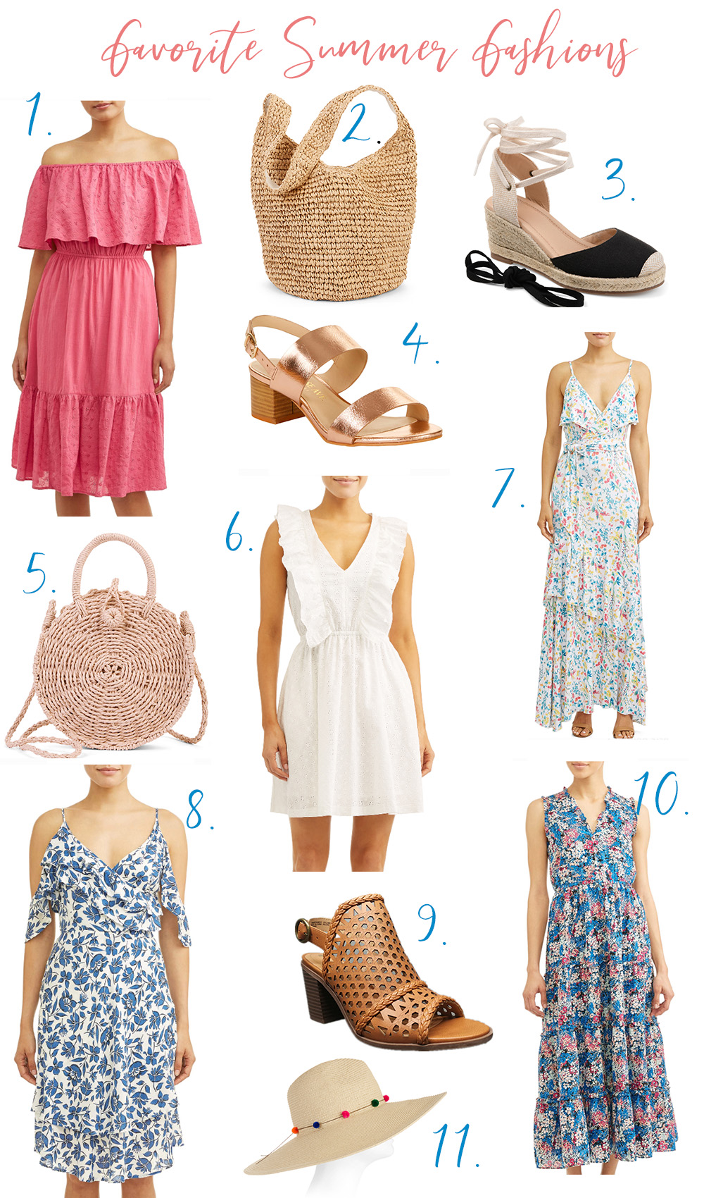 Affordable Summer Fashion - Cutest Looks all under $50.. perfect for the warmer weather. | Kristy Wicks