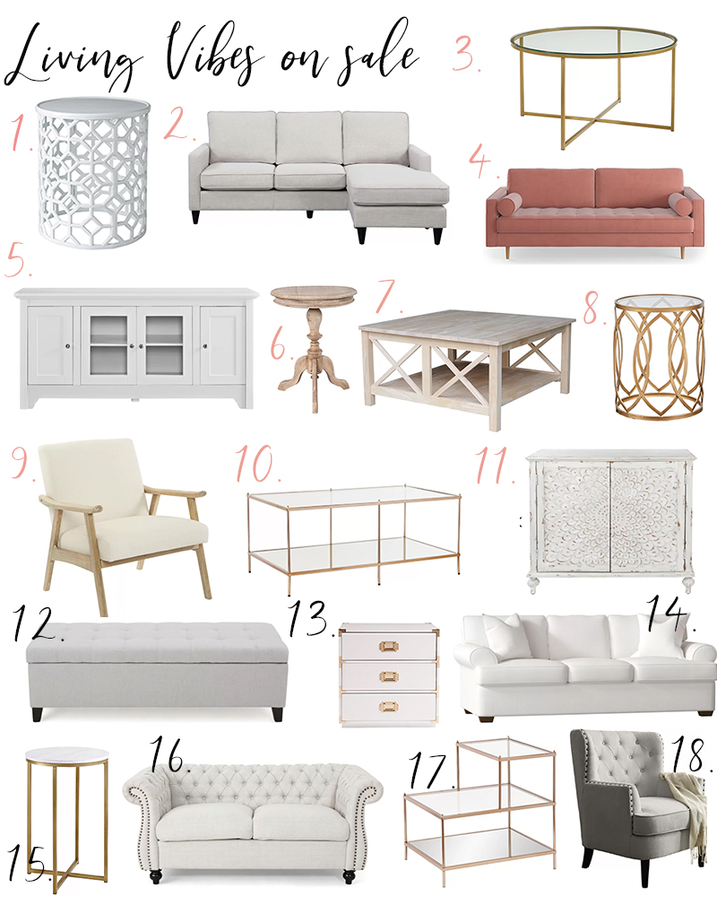 Wayfair's Memorial Day Sales are HERE! Through the weekend TONS of home decor are up to 70% off like dining room, family room, bedding, outdoor and more! | Kristy Wicks