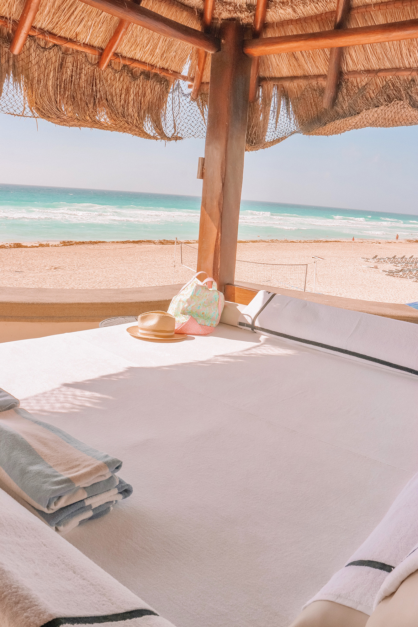 Cabana Day in Cancun Mexico | Travel Diary of my trip to the Yucatán Peninsula | Kristy Wicks