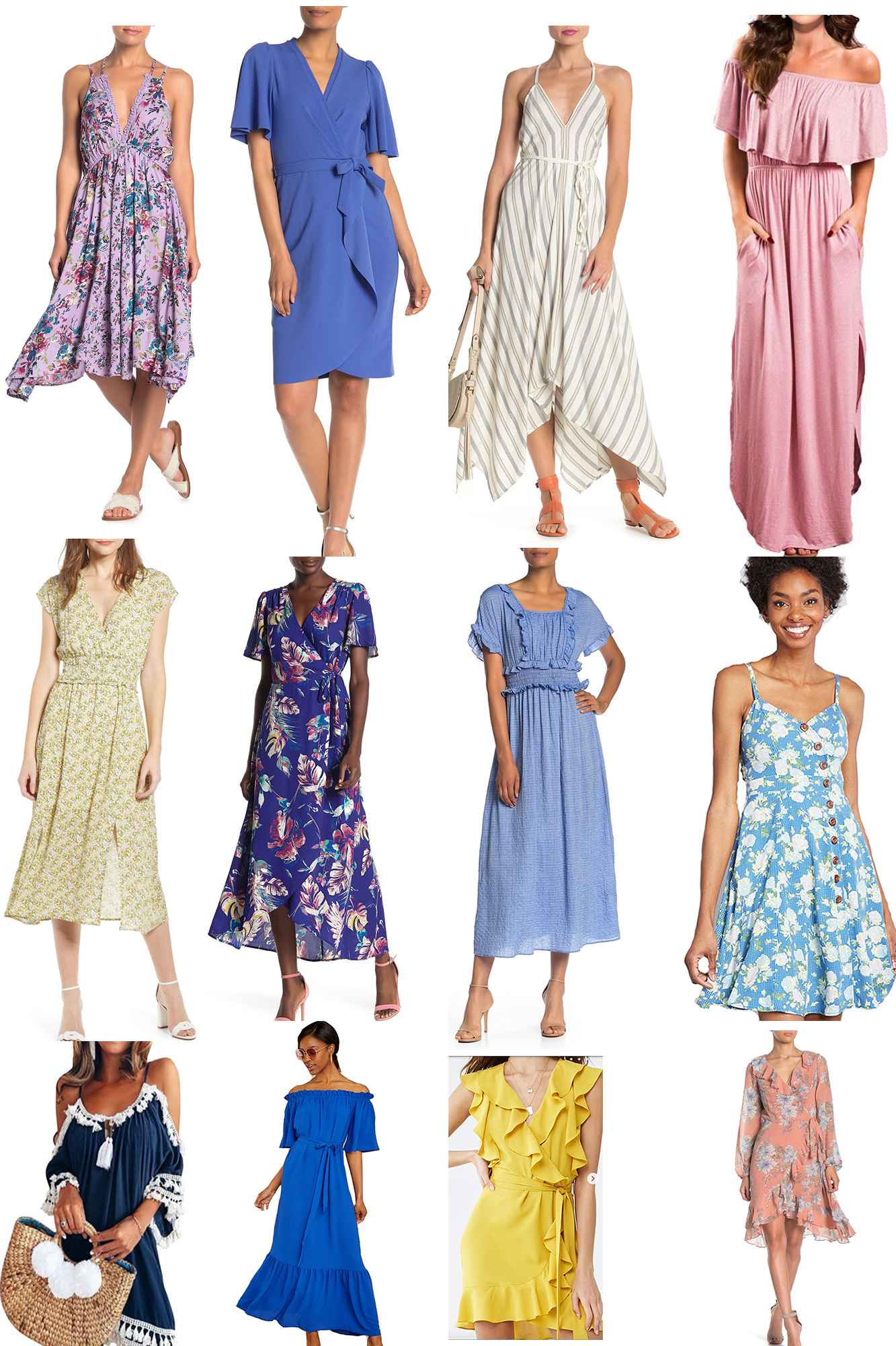 Cutest Summer Dresses under $50 - Loving these adorable steals for an affordable price. Perfect for the rest of Summer!