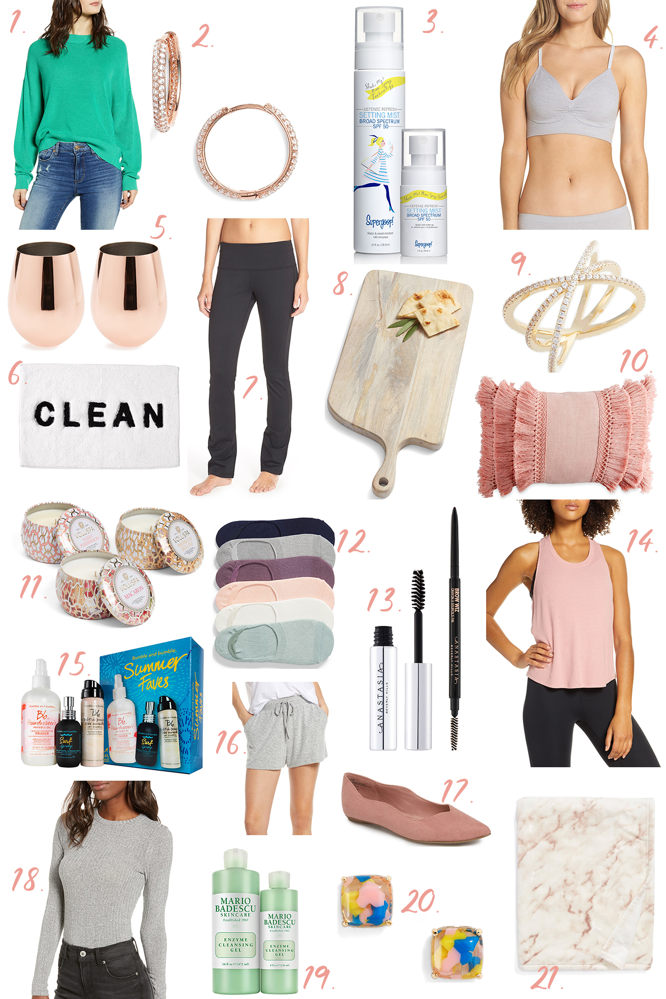 Nordstrom Anniversary Sale 2019 on a budget - Rounded up my NSale favorites under $30 in all categories: fashion, shoes, beauty, home and more!