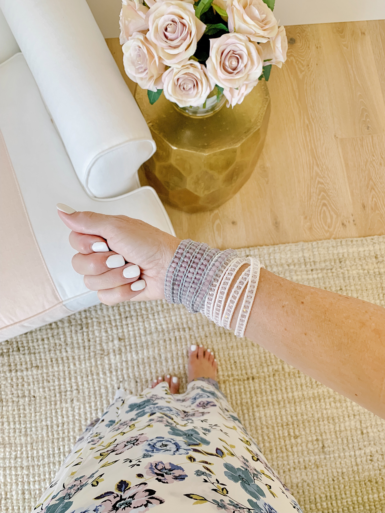 Wrap Bracelet Obsessed - Victoria Emerson Wrap Bracelets & Boho Cuff Bracelet Reviews.. I rounded up my favorite summer accessories!