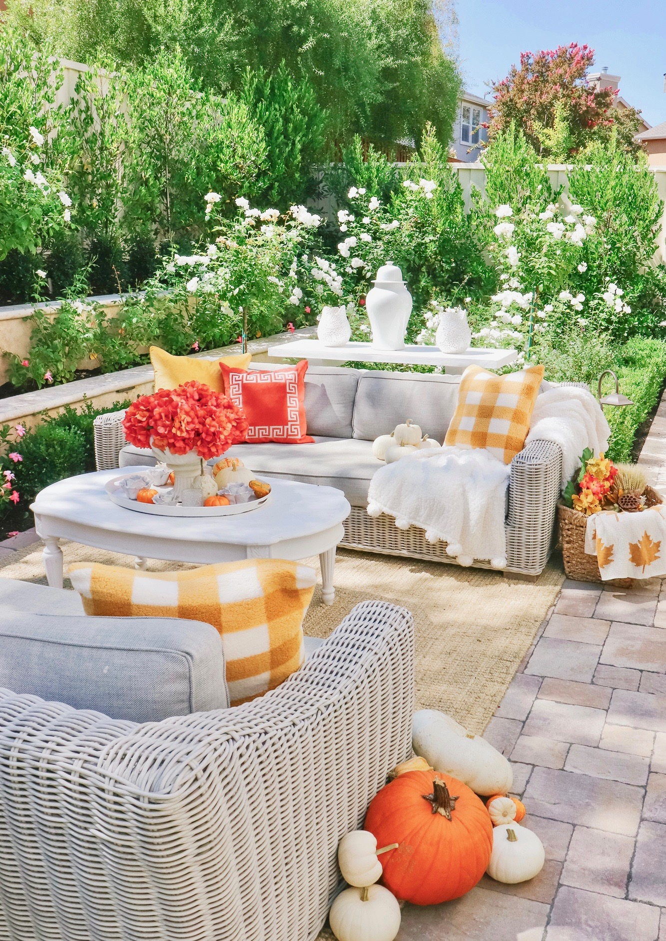 Colorful Fall Outdoor Inspiration Decor Kristywicks Com
