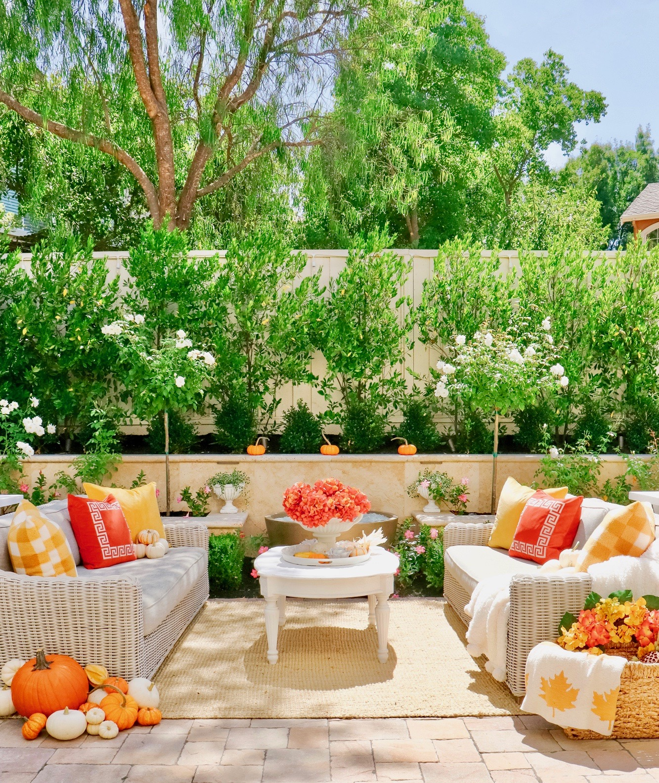 fall harvest decorations outdoors colorful fall outdoor inspiration   decor kristywicks com  fall outdoor inspiration   decor