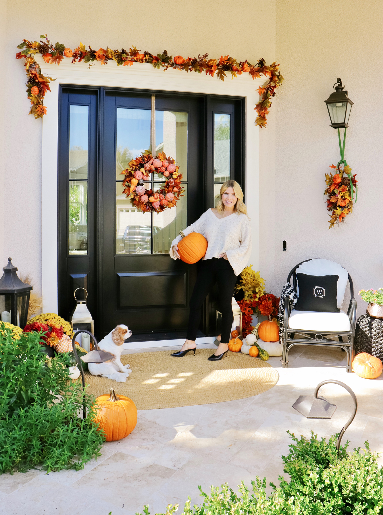 Easy Fall Front Porch Decor Ideas Kristywicks Com