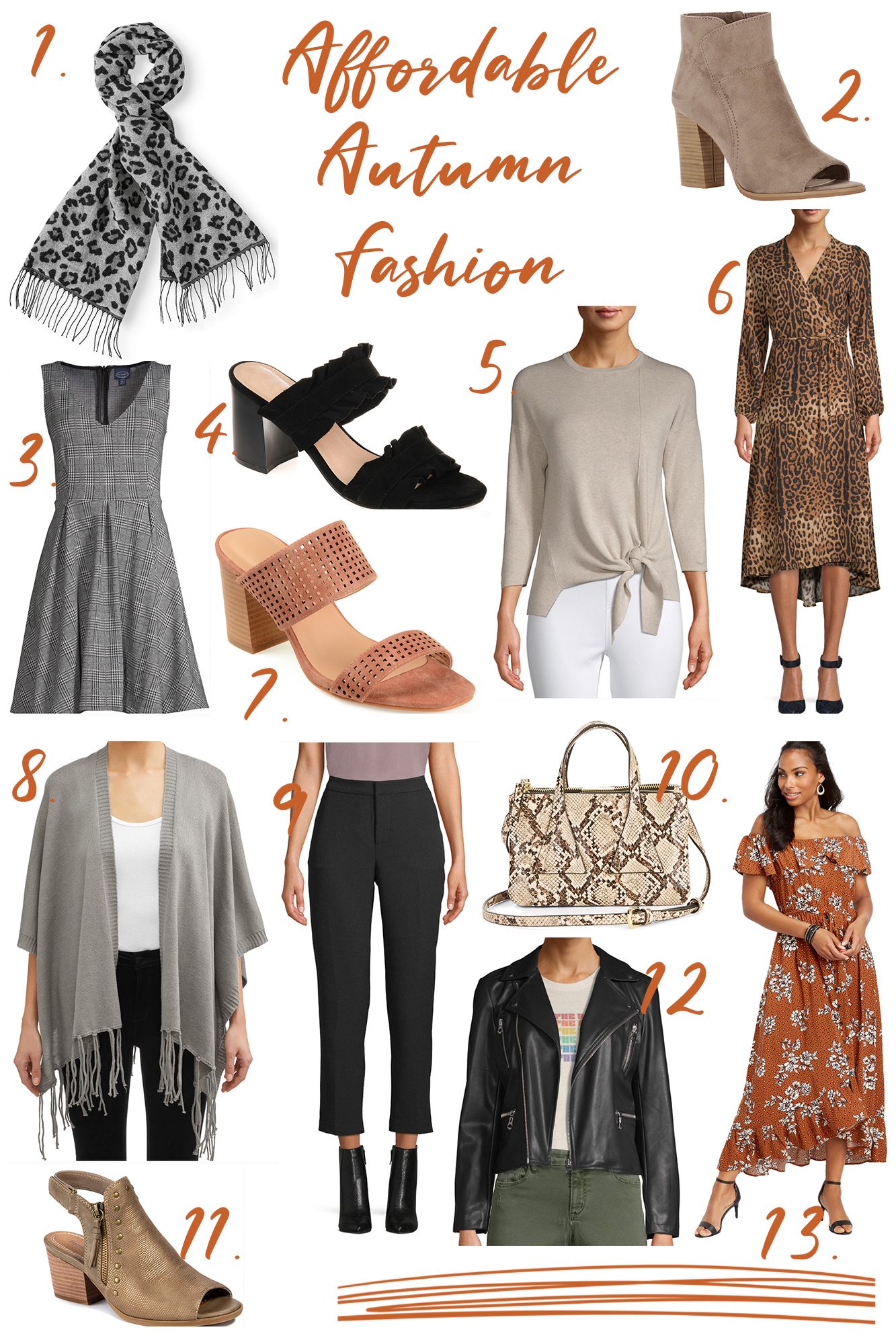 Fall To-Do List & Affordable Autumn Fashion - Harvest time is one of my favorite seasons.. I rounded up the best Fall activities & clothing options for you!