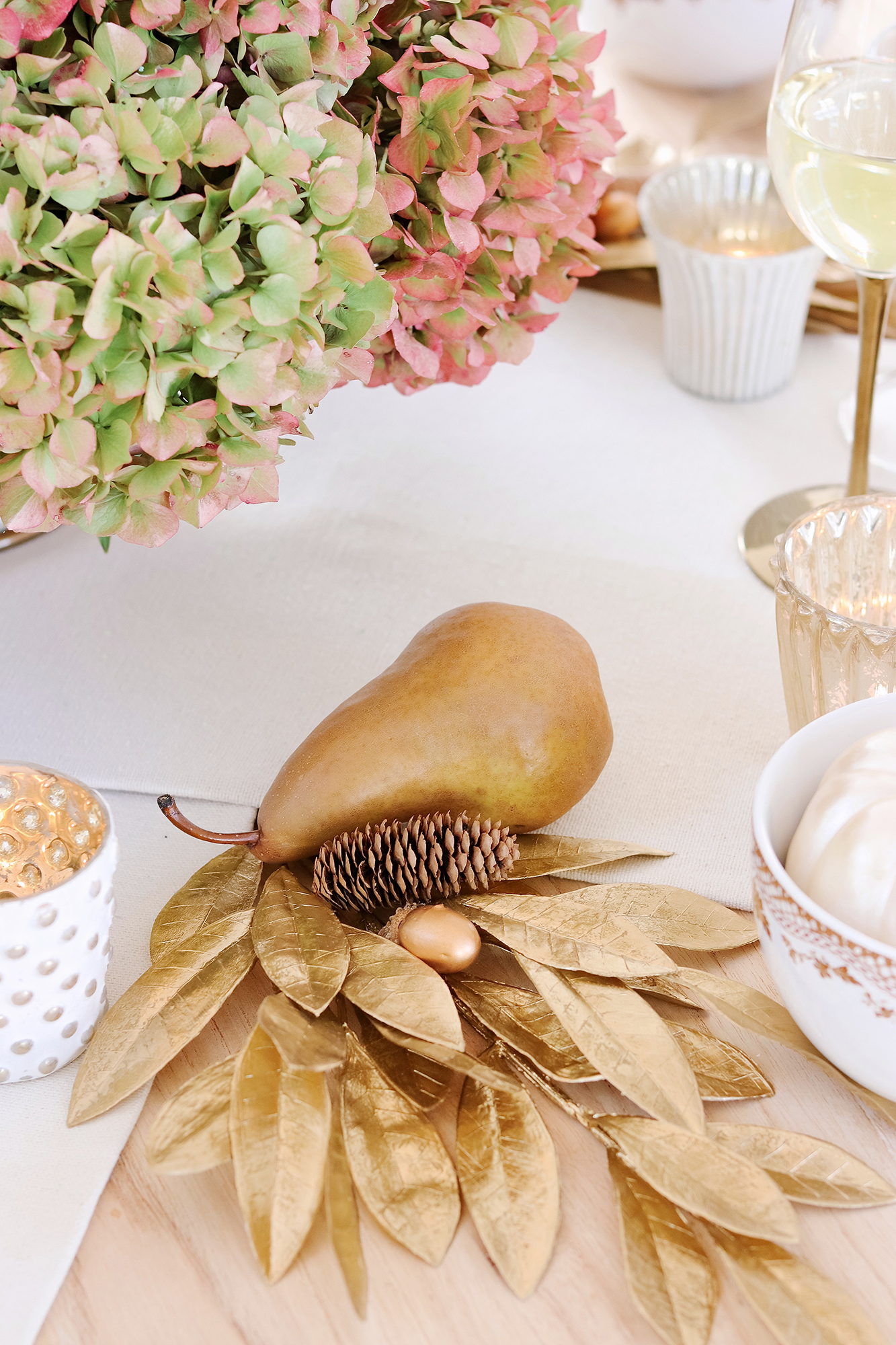 Thanksgiving Dinner Tablescape Ideas using Martha Stewart Collection created for Macy's - Affordable, classic, and the best Thanksgiving table ideas!
