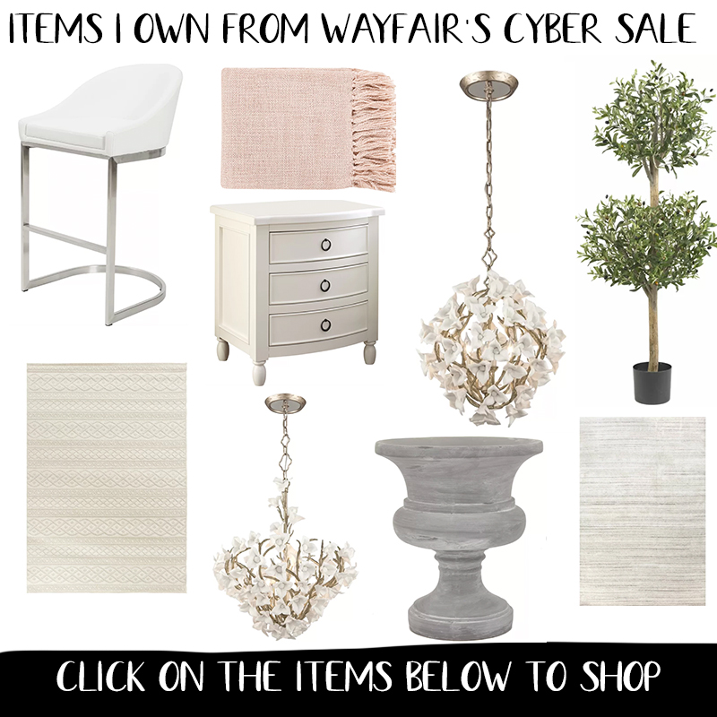 Wayfair Black Friday & Cyber Monday Sale 2019 - All of the BEST items and the best time to shop for home decor and furniture.. up to 80% off.