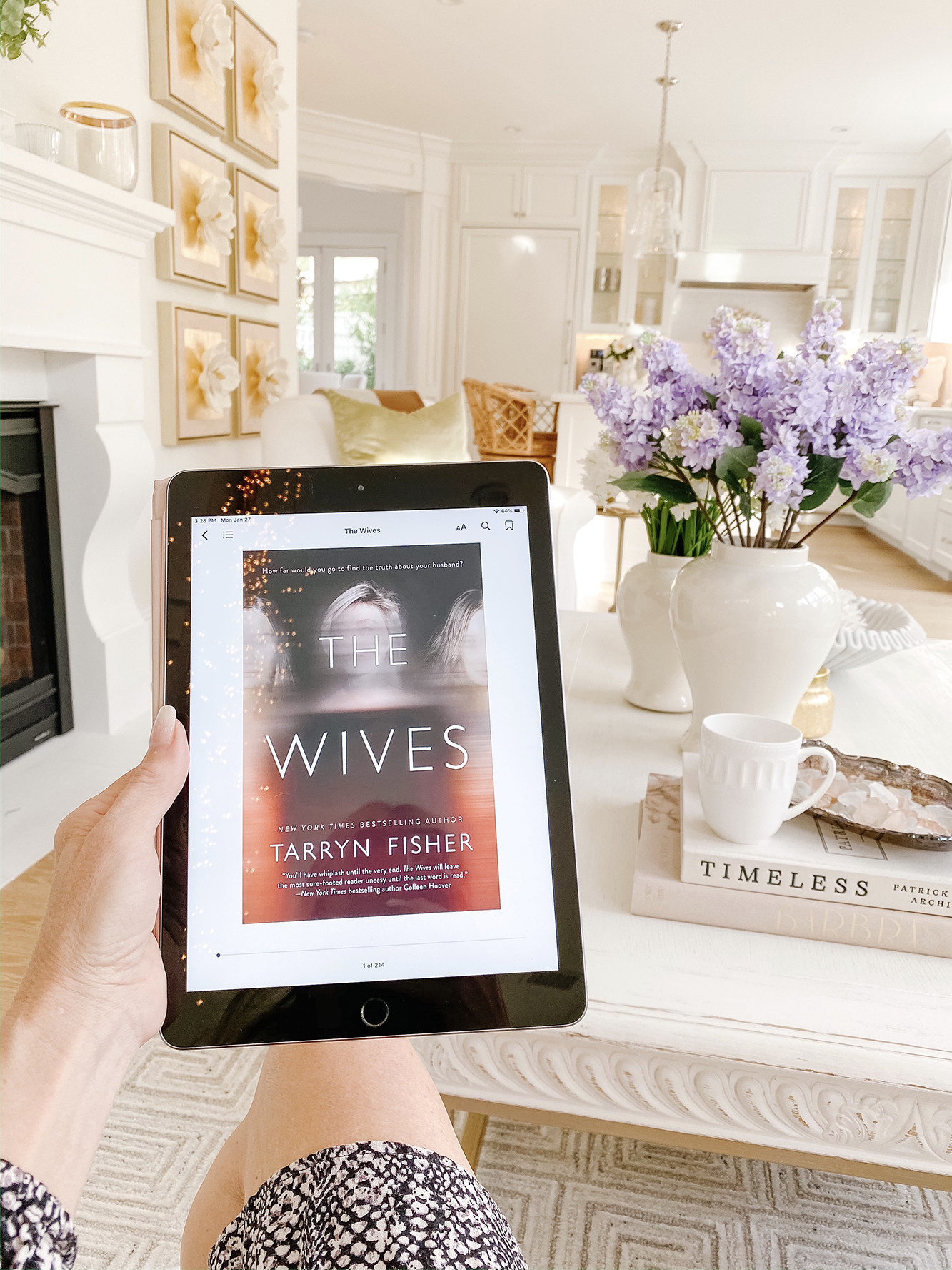 January Book Club Discussion - The Wives by Tarryn Fisher Book Review!