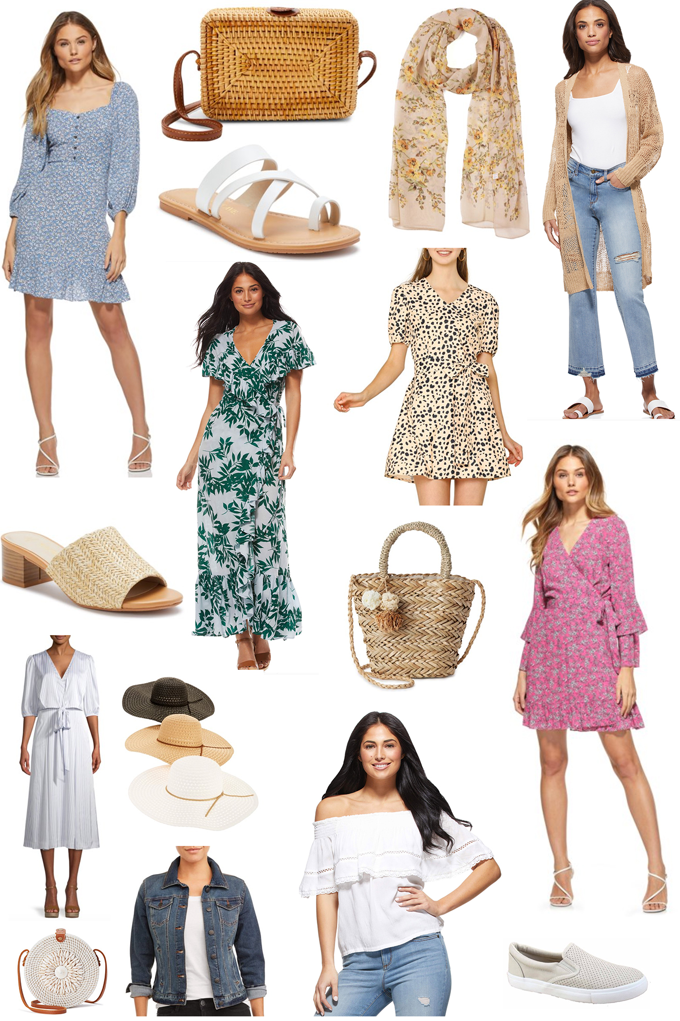 Spring to Summer Transitional Fashion Ideas - Affordable yet stylish outfit ideas for Summer 2020. Comfort is key & cute accessories