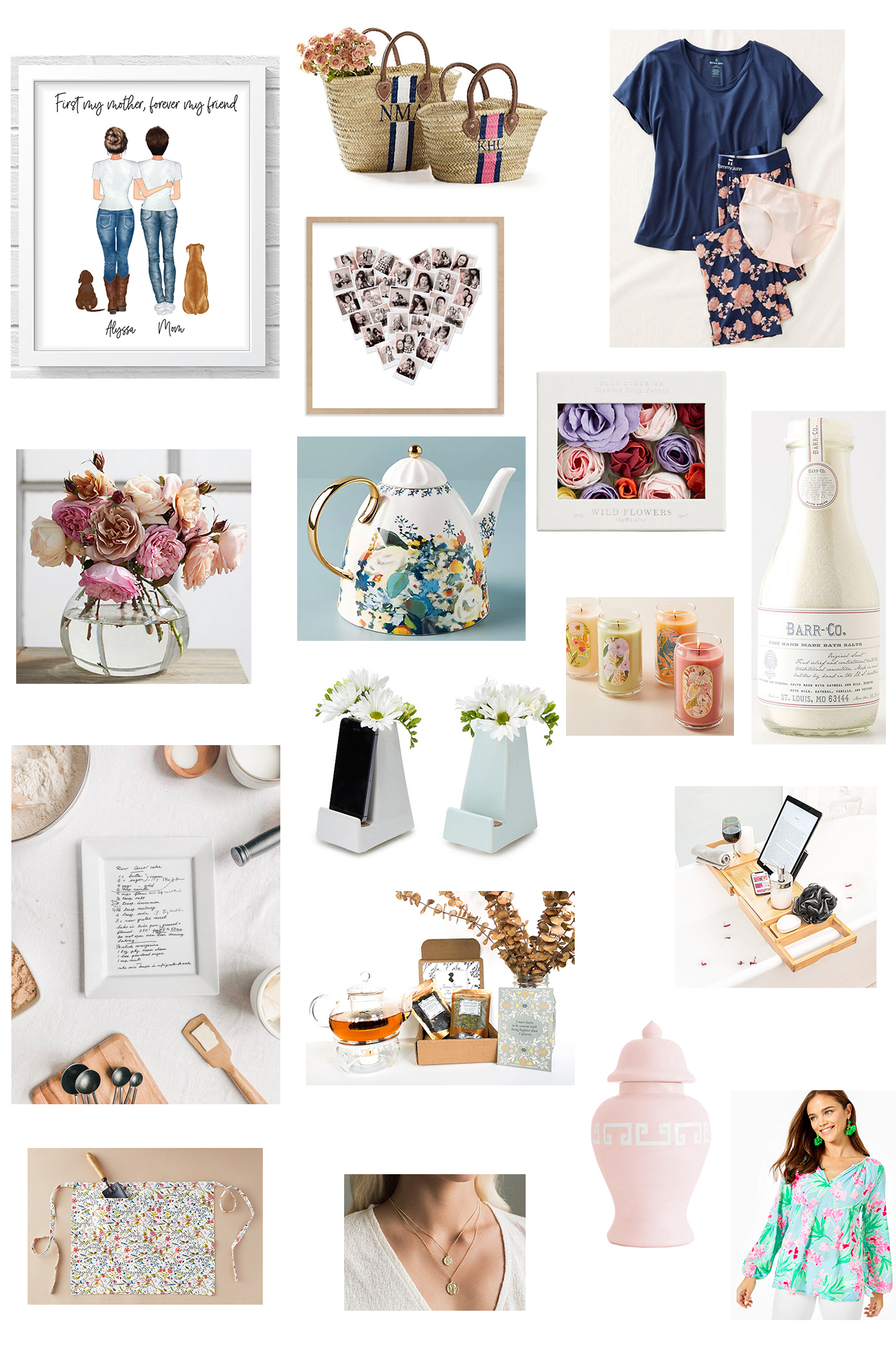 The Best Mother's Day Gift Guide - Fun ideas on how to celebrate mother's day remotely while in quarantine, special and affordable gift ideas.