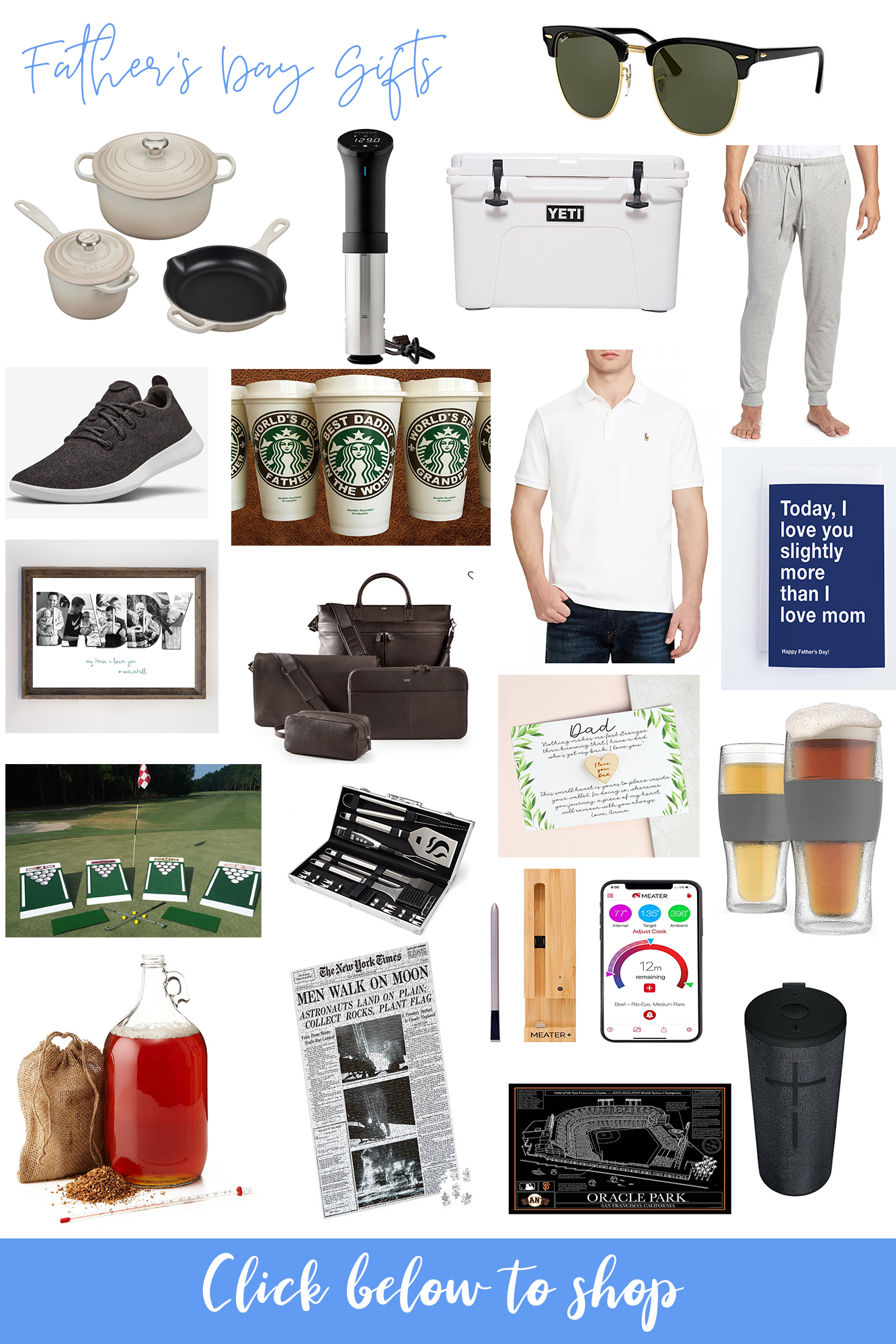 Last Minute Father's Day Gift Guide 2020 - Affordable, fun and sweet gifts to give the father figure in your life. Wide range of products and options!