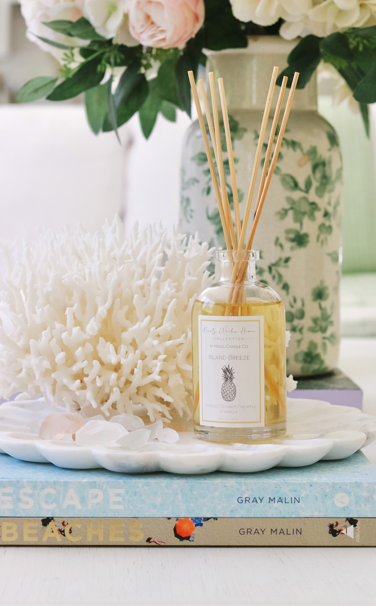 My Summer Diffuser is now available for purchase | Kristy Wicks Home is now live! 100% of the profits of this diffuser is going to charity - so excited!