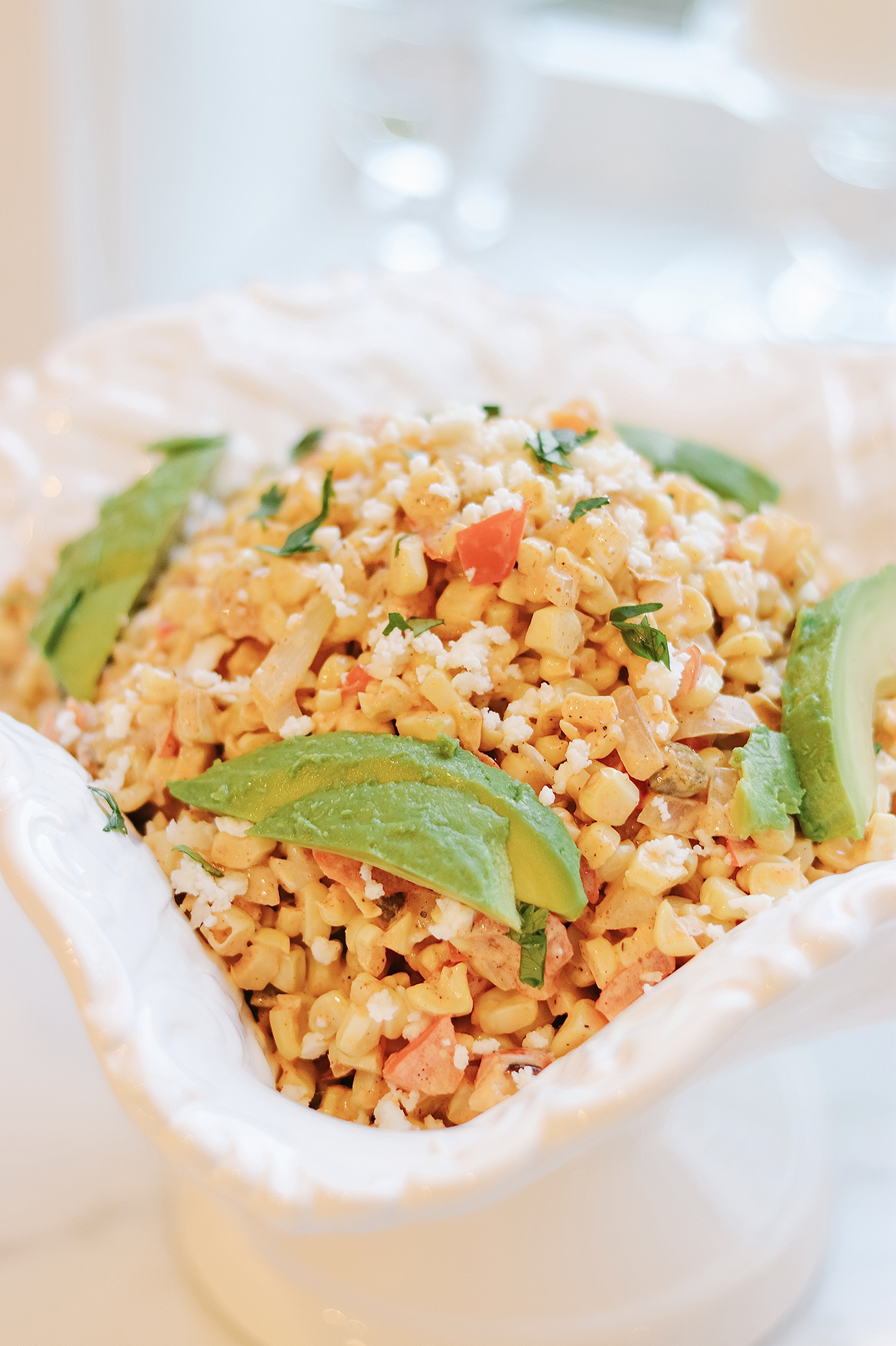 Jeff's Mexican-Style Street Corn Recipe // Delicious and easy side that is perfect for Summer! One of our favorite dishes to make.