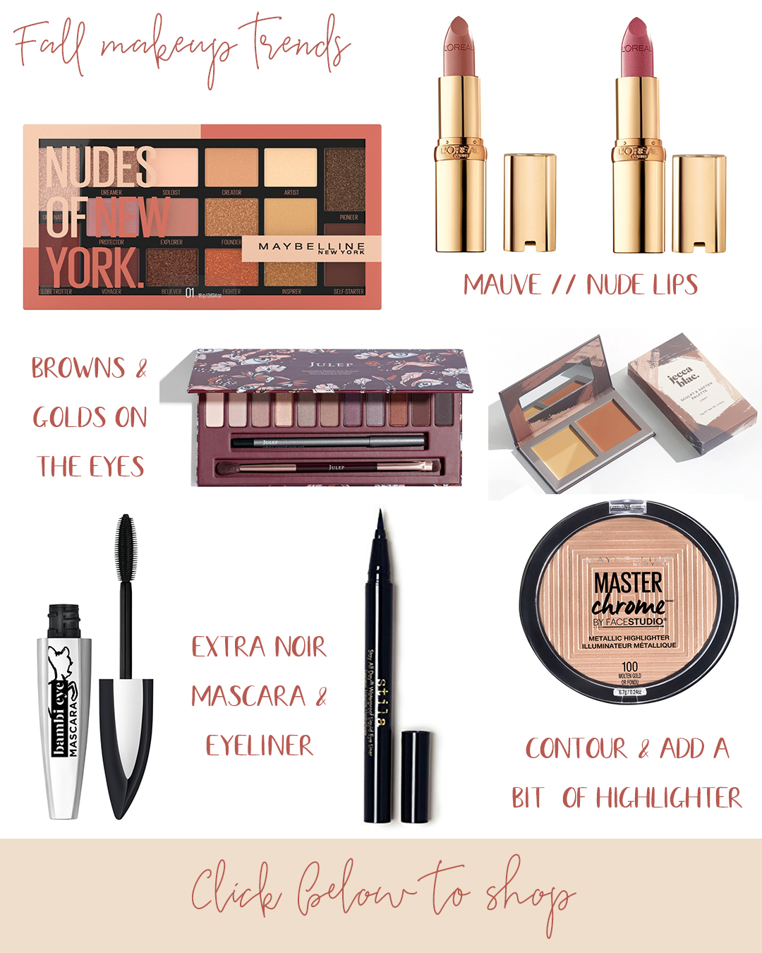 Fall Beauty: Makeup & Nail Trends for 2020! Chatting all about what is hot this season for eyeshadows, lip colors, nails and so much more.
