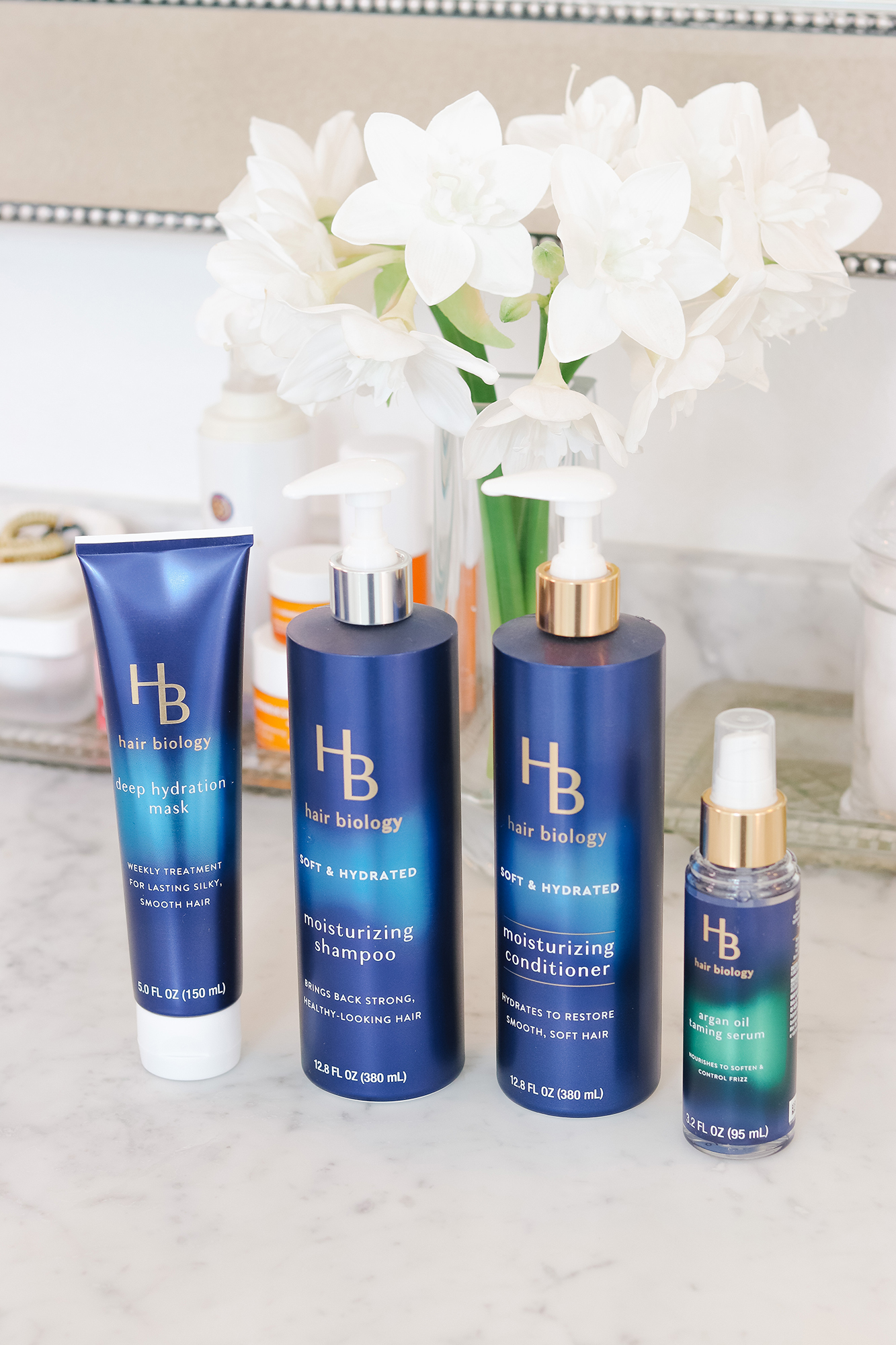 Hair Biology Review - Do these products really work for women who are 45+? A complete review on their Soft + Hydrated line.