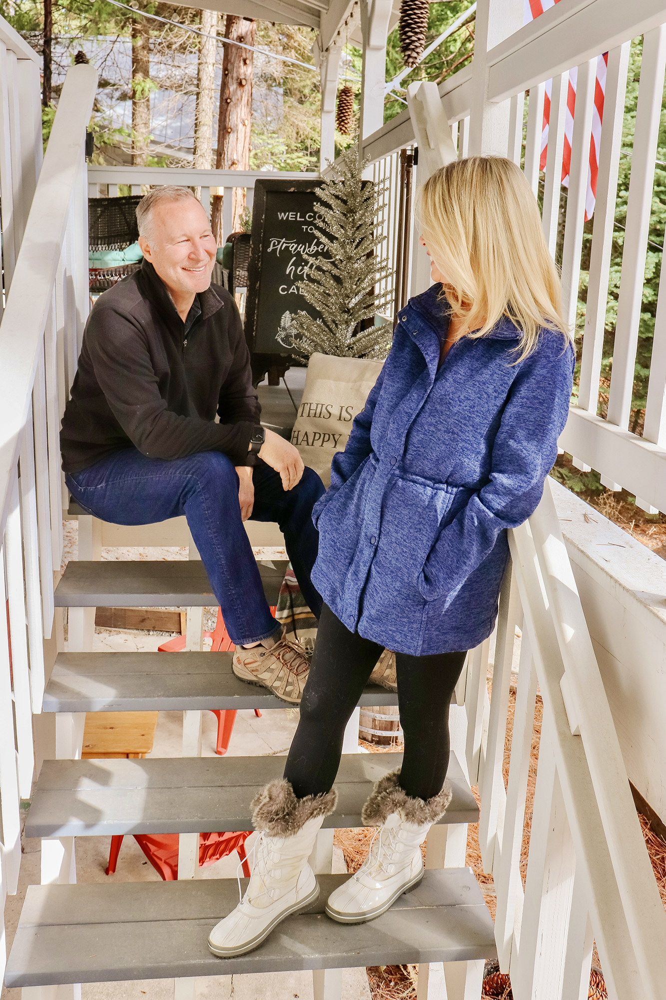 Coziest Winter Wear & Holiday Gifts at the Lake - Lands End winterwear review - up to 60% off. Our favorite warm and affordable jackets and other options.